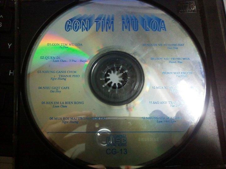 Album Con Tim Mù Loà