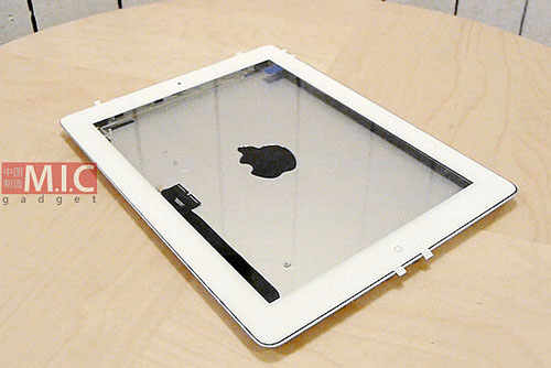 Xuất hiện lớp vỏ iPad 3