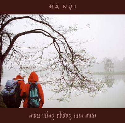 Album Hà Nội Mùa Vắng Những Cơn Mưa