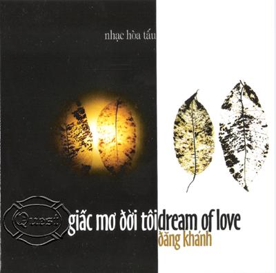 Album Giấc Mơ Đời Tôi – Đăng Khánh