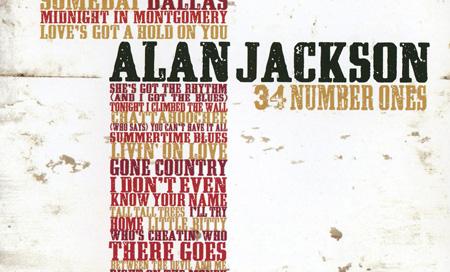 Album 34 Number Ones No.1 – Alan Jackson