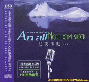 Album Night Don't Sleep Vol 3 – Guitar
