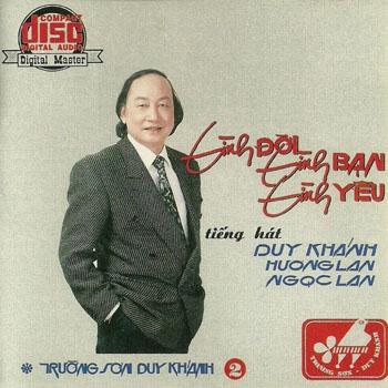 Album Tình Đời, Tình Bạn, Tình Yêu – Duy Khánh