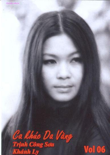 Album Ca Khúc Da Vàng Vol.6 (Pre 1975) – Khánh Ly