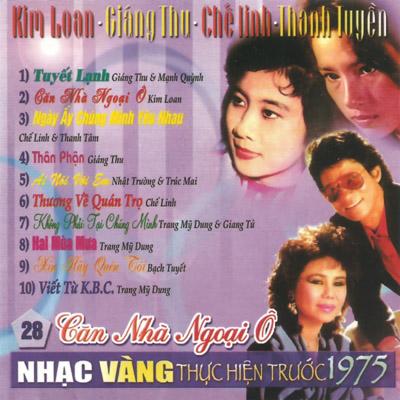Album Căn Nhà Ngoại Ô (Pre 1975)