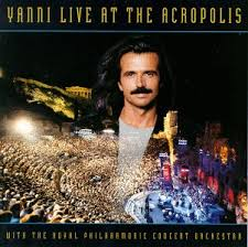 Album Hòa Tấu Live at the Acropolis 1994_Yanni