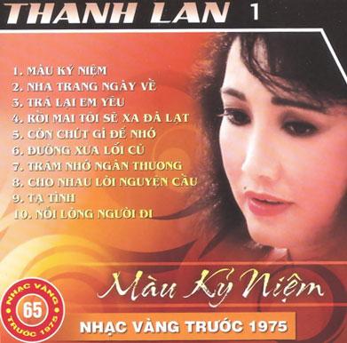 Album Màu Kỷ Niệm (Pre 1975) – Thanh Lan