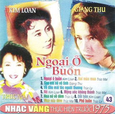 Album Ngoại Ô Buồn (Pre 1975)