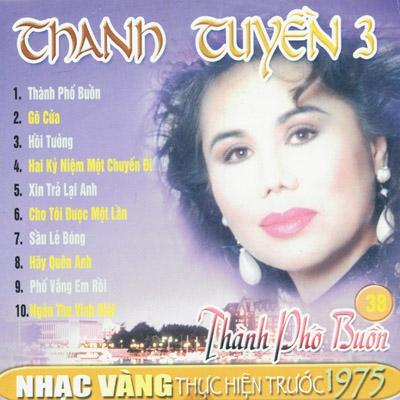 Album Thành Phố Buồn (Pre 1975) – Thanh Tuyền