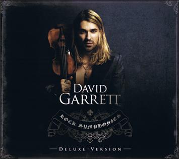 Album David Garrett – Rock Symphonies(Deluxe Version) CD1
