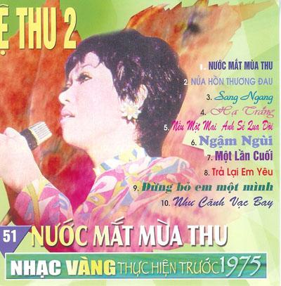 Album Nước Mắt Mùa Thu (Pre 1975) – Lệ Thu