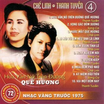 Album Hoa Vẫn Nở Trên Đường Quê Hương – Chế Linh & Thanh Tuyền (Pre 1975)