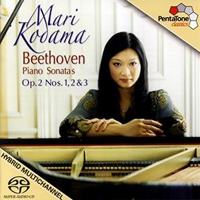 Album Mari Kodama – Beethoven. Piano Sonatas Nos. 1, 2, 3 (2008)