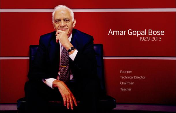 Nhà sáng lập hãng Bose qua đời ở tuổi 83