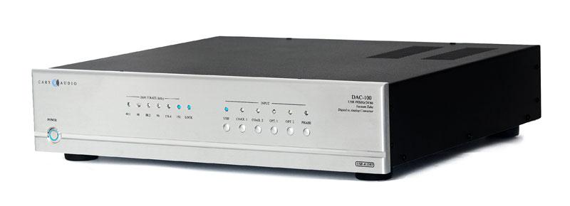 Bộ đôi giải mã Cary Audio DAC-100 và DAC-100T