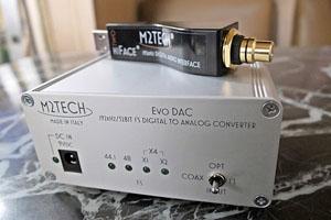 Nhạc số đơn giản với M2Tech Hiface Two & Evo DAC