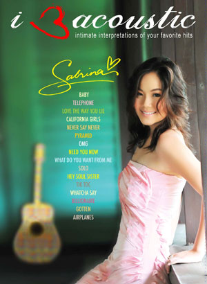 Album Sabrina – I Love Acoustic 3 (2010)