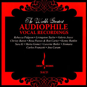 Album The World's Greatest Audiophile Vocal Recordings
