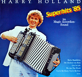 Album Superhits 85 (im Magic Accordion Sound) (1985) – Harry Holland