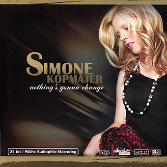Album Nothing's Gonna Change (2012) – Simone Kopmajer