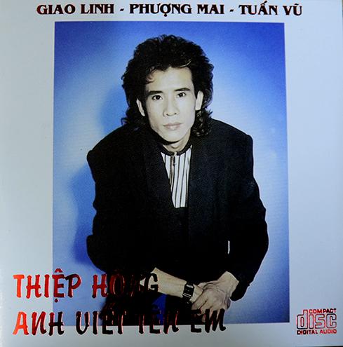 CD Thiệp Hồng Anh Viết Tên Em