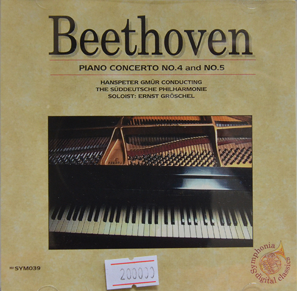 CD Beethoven – Piano Concerto No.4