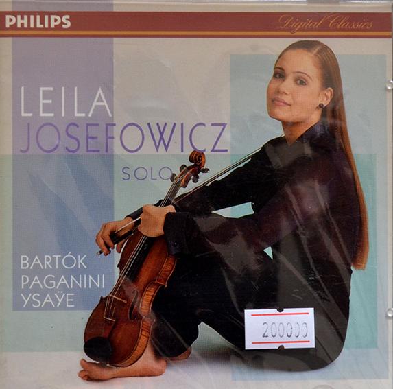 CD Leila Josefowicz