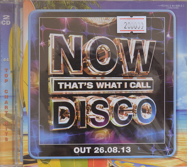 CD Now That's What I Call Disco