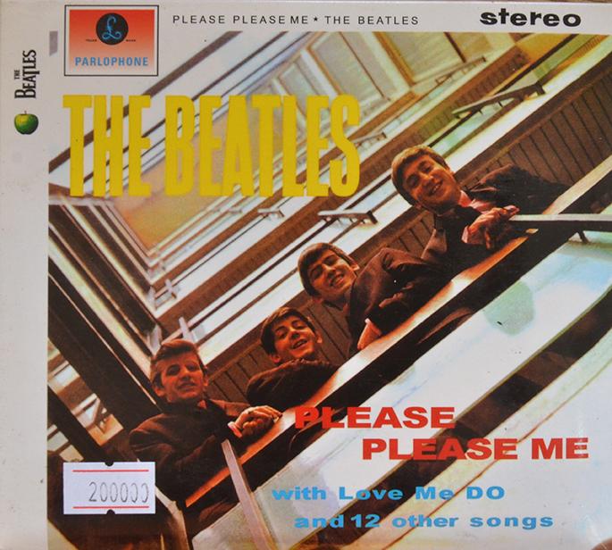 CD Please Please Me – The Beatles