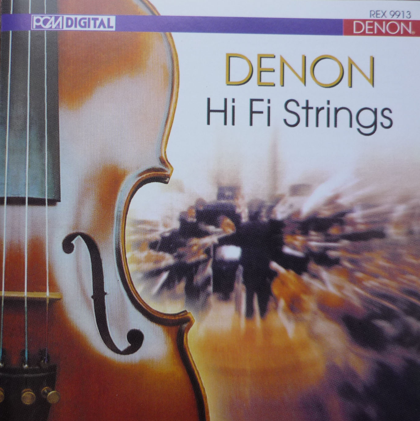 Album Denon Hi Fi Strings – 1998