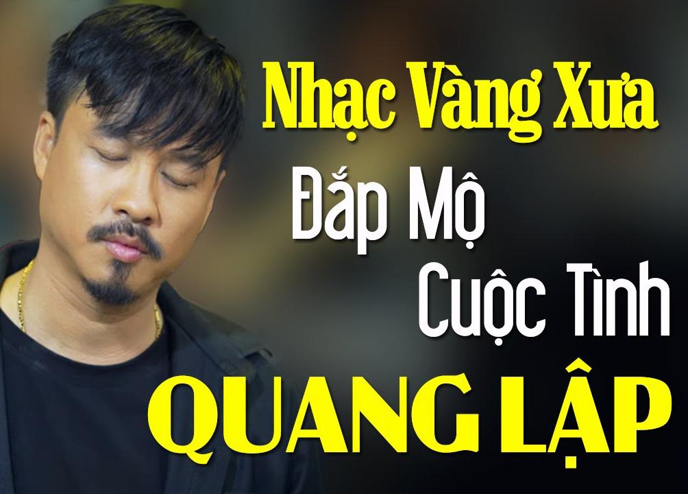 Album Bolero – Quang Lập