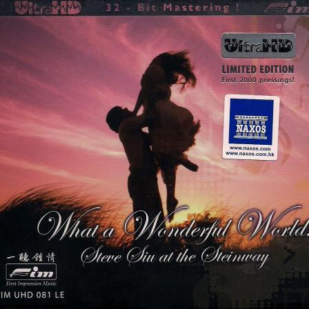 Album What a Wonderful World (UltraHD) – Steve Siu