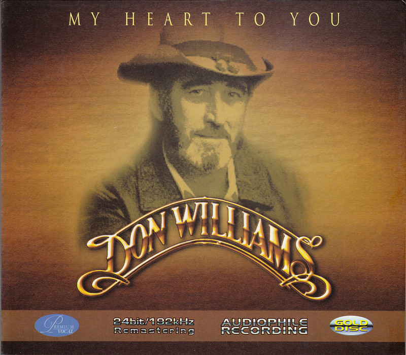 CD Don Williams – My Heart To You (2004)