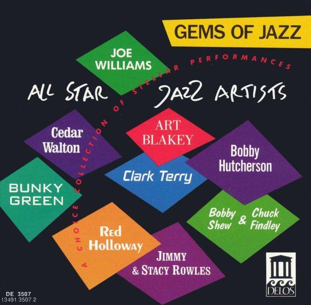 CD Gems of Jazz Delos Sampler