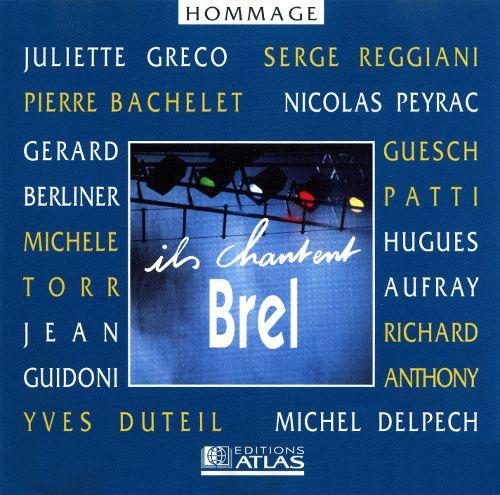 CD Ils Chantent Brel