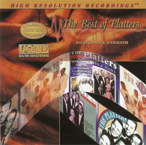 CD More Images  The Platters ‎– The Best Of Platters Audiophile Version