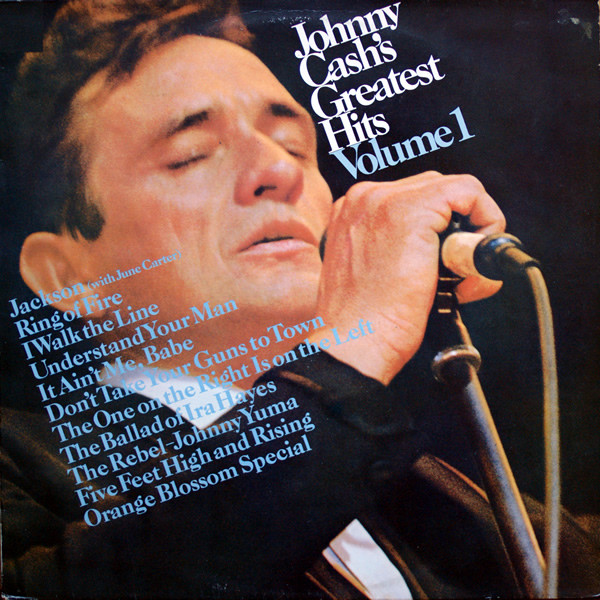 CD Johnny Cash ‎– Greatest Hits Volume 1
