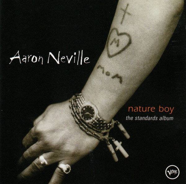 CD Aaron Neville ‎– Nature Boy