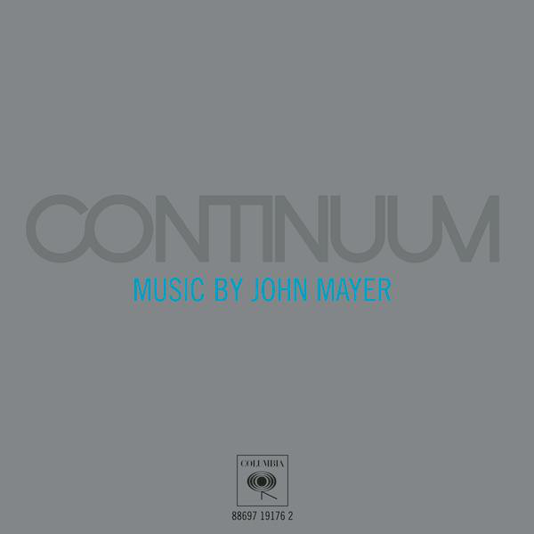 CD Cotinuum – Music By John Mayer