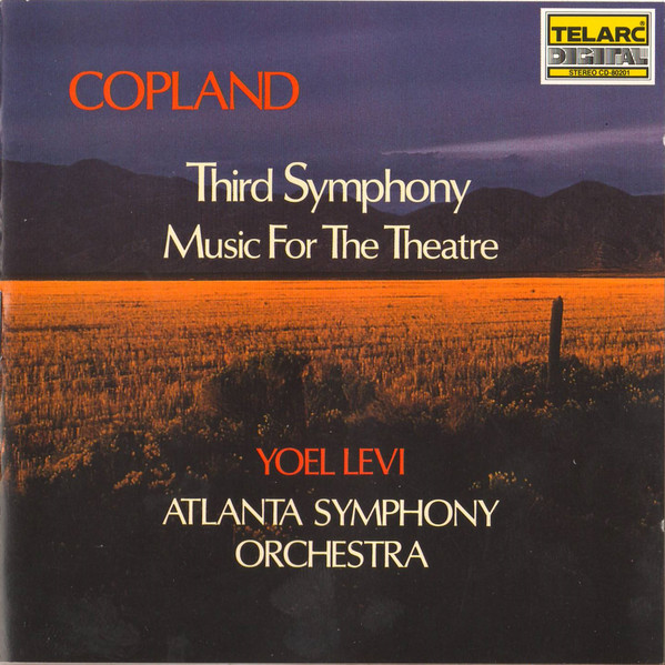 CD Third Symphony / Music For The Theatre
