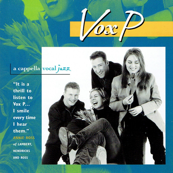 CD Vox P (2) ‎– A Cappella Vocal Jazz