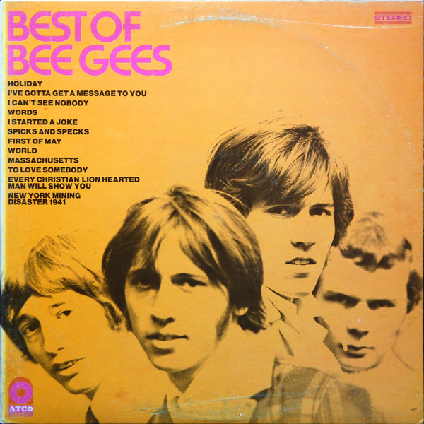 CD Bee Gees ‎– Best Of Bee Gees