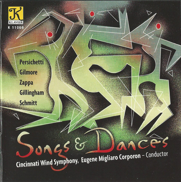 CD Songs & Dances