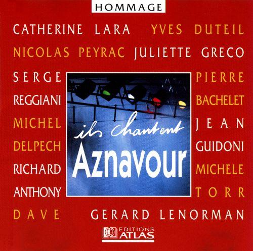 CD Ils Chantent Aznavour