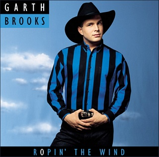 CD Garth Brooks – Ropin' The Wind Images