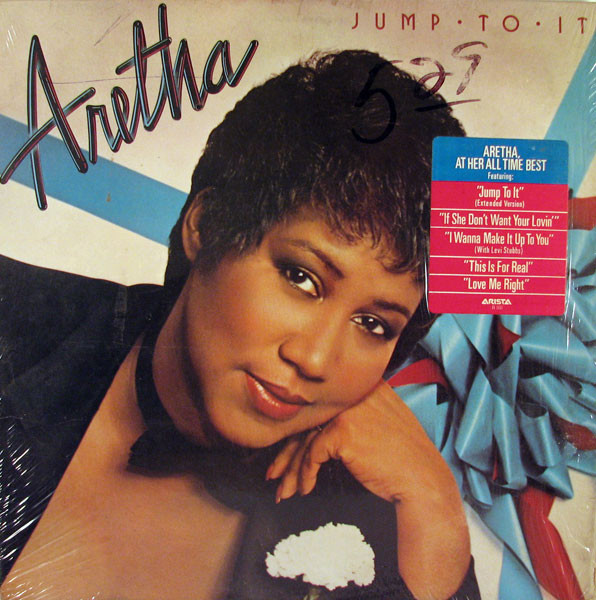 CD Aretha* ‎– Jump To It