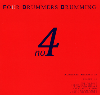 Album Four drummers drumming no.4 vol.2