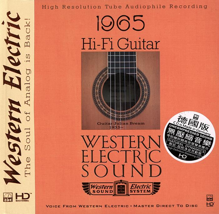Album Julian Bream – Western Electric Sound – 1965 Hi-Fi Guitar (2012)