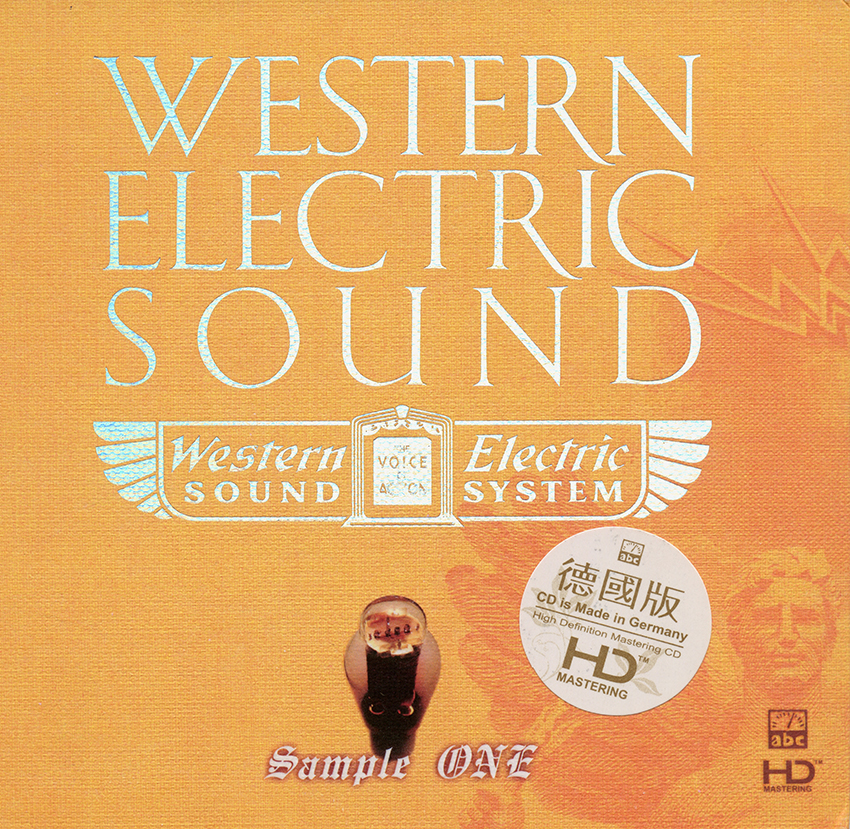Album Western Electric – Sample One