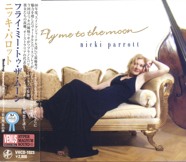 Album Fly Me To The Moon – Nicki Parrott